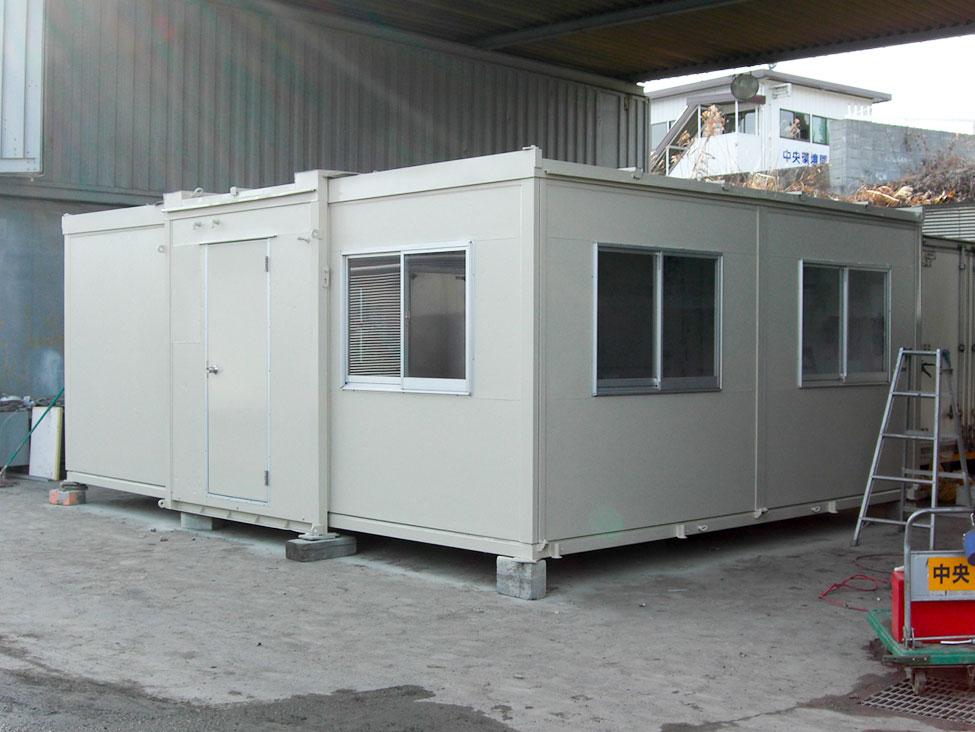ユニットハウスの例